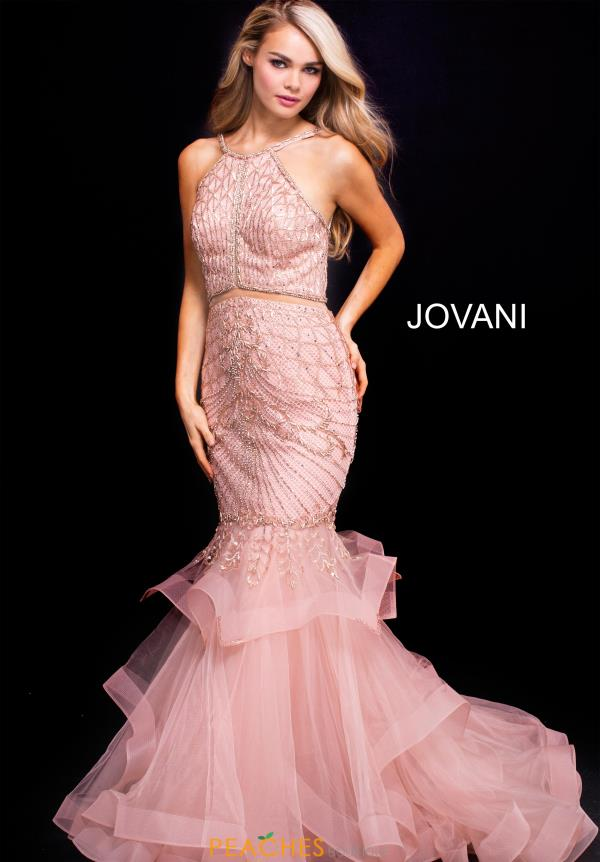Jovani Beaded Mermaid Dress 54646