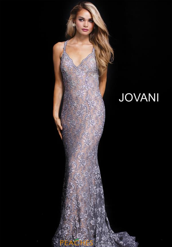 Jovani Long Lace Dress 54853