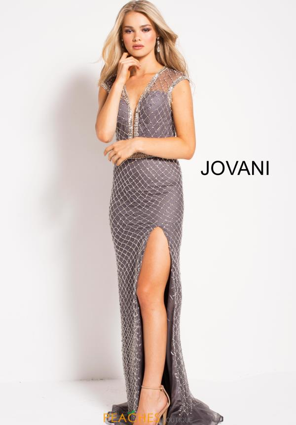 Jovani Long Beaded Dress 54933