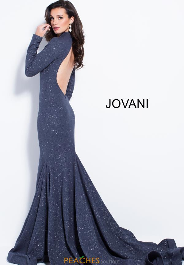 Jovani Open Back Fitted Dress 55205
