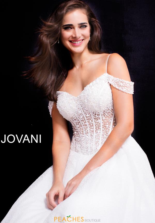 Jovani Beaded Ball Gown 55247
