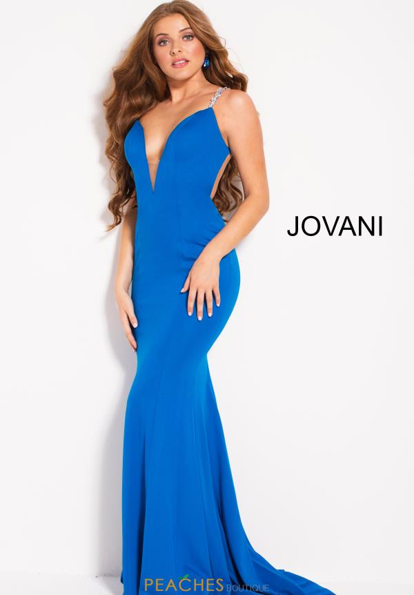 Jovani Long Fitted Dress 55286