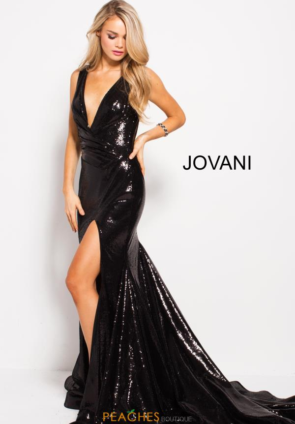 Jovani Long Sequins Dress 55606