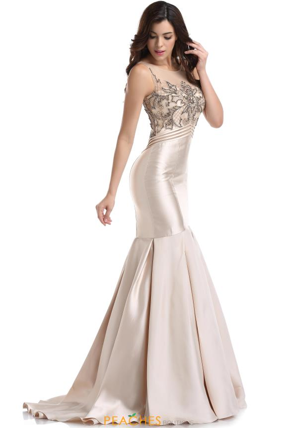 Romanca Couture Beaded Mermaid Dress RM6051