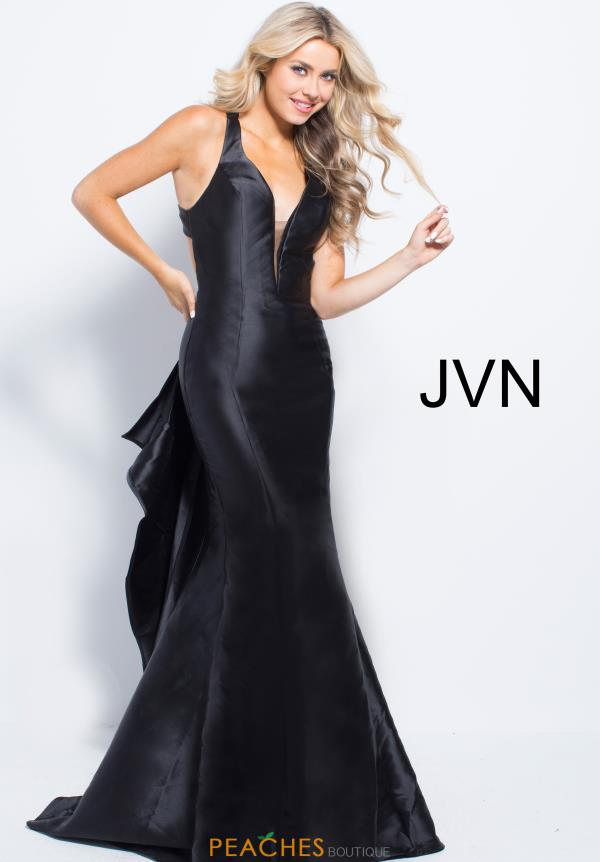 JVN by Jovani Open Back Fitted Dress JVN58094