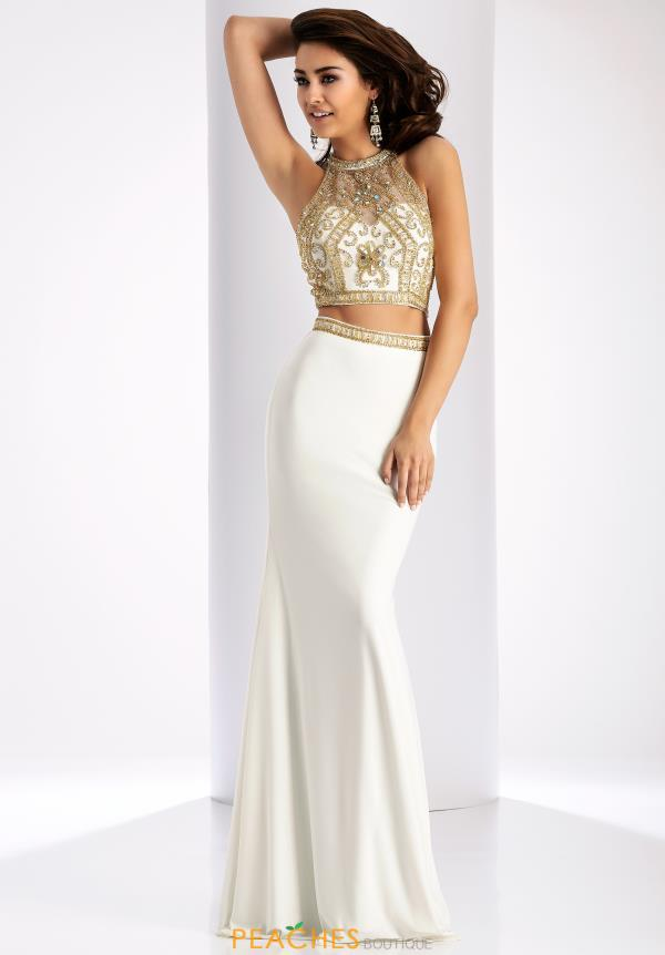 Clarisse Two Piece Fitted Dress 3006