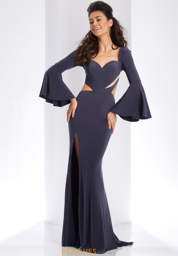 Clarisse Long Sleeved Fitted Dress 3405