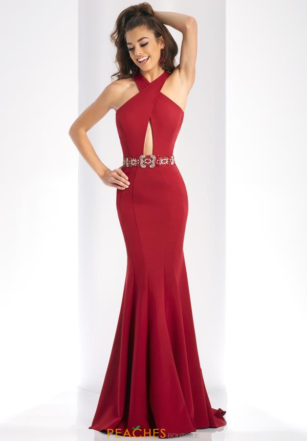 Clarisse Low Cut Back Dress 3417