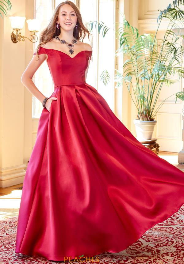 Clarisse Off The Shoulder Gown 3442