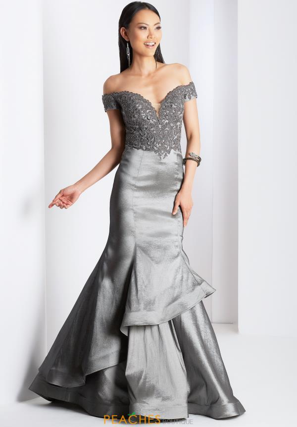 Clarisse Beaded Mermaid Dress 3476