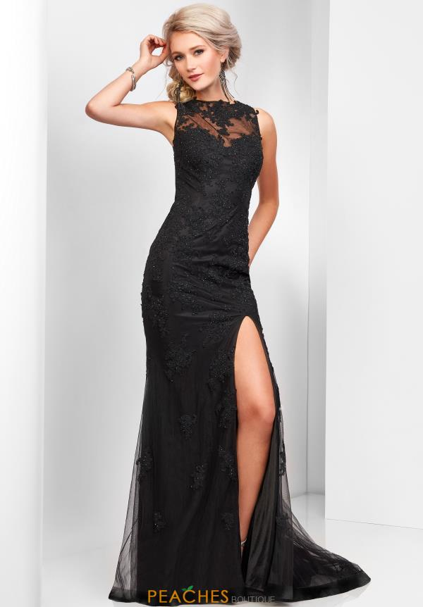 Clarisse Long Fitted Dress 3573