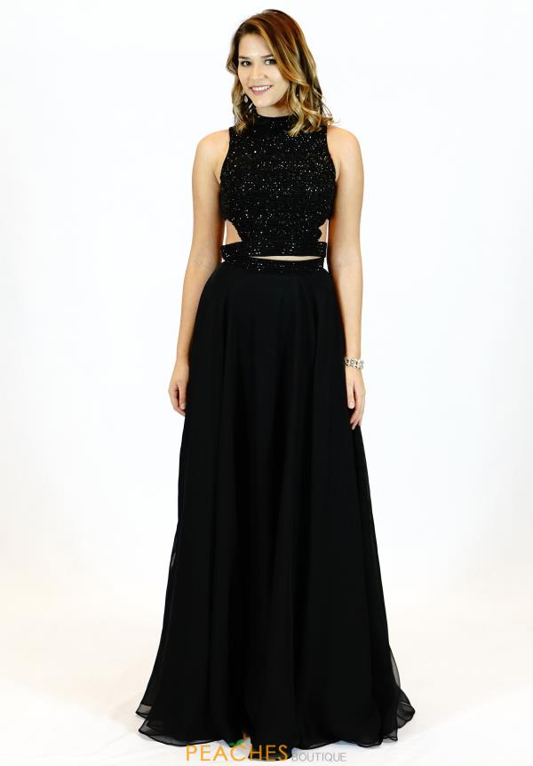 ee912a937e4 ... Designers · Sherri Hill  15551871. Black.  51871. 1 of 2. Black