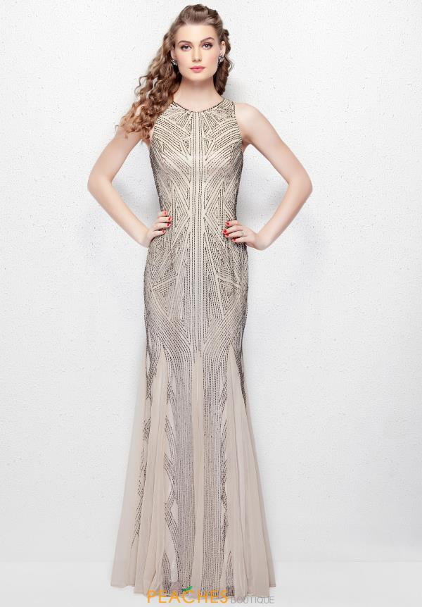 Primavera Long Fitted Dress 1271