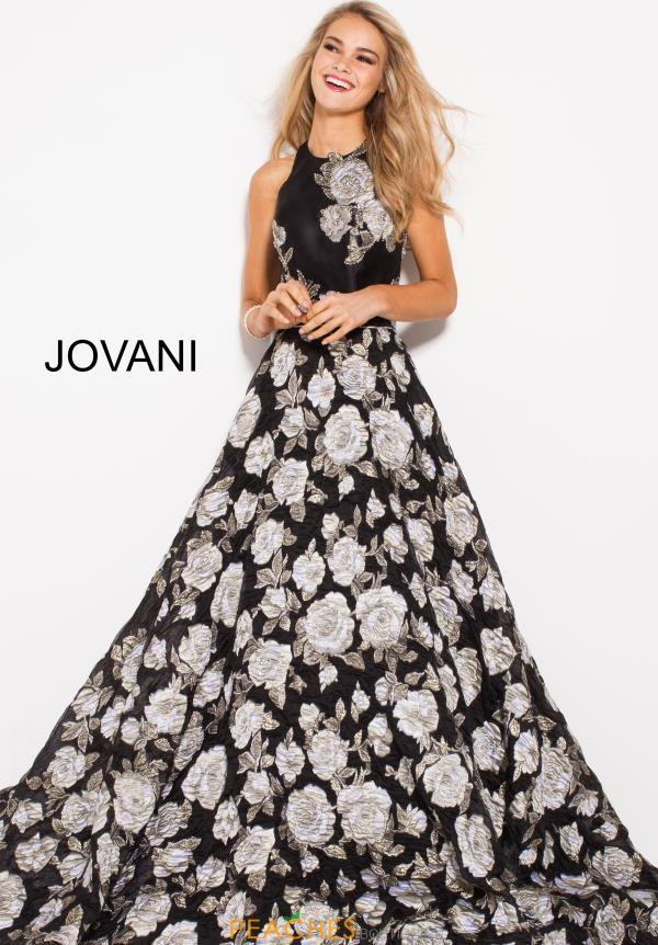 Jovani Long Black Dress 55705