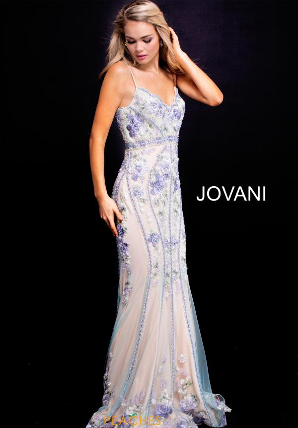 Jovani Long Beaded Dress 55816