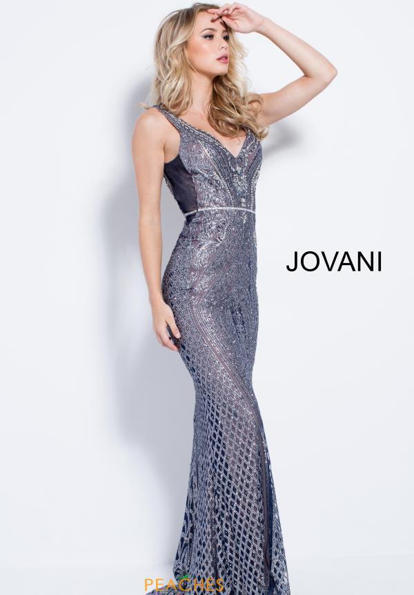 Jovani Navy Dress