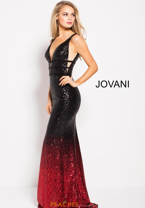 Jovani Long Sequins Dress 56015