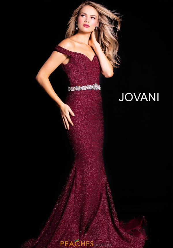 Jovani Cap Sleeved Fitted Dress 57267