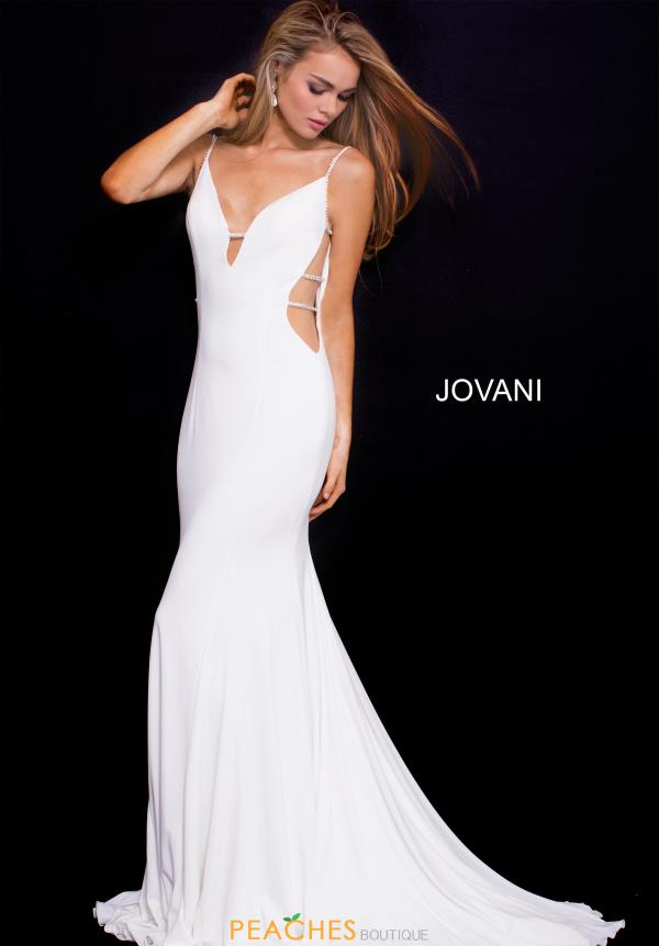 Jovani Sexy Fitted Dress 57295