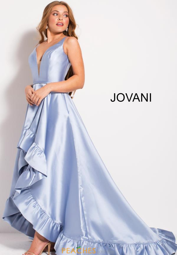 Jovani Long High Low Dress 57491
