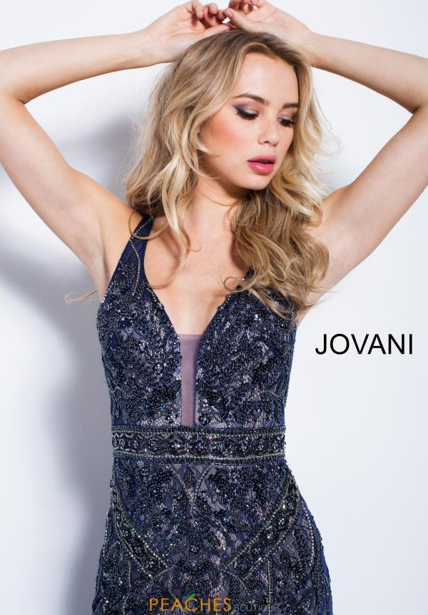 Jovani Beaded Long Dress 58018