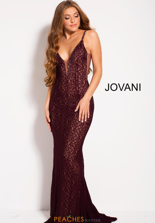 Jovani Long Lace Dress 58348