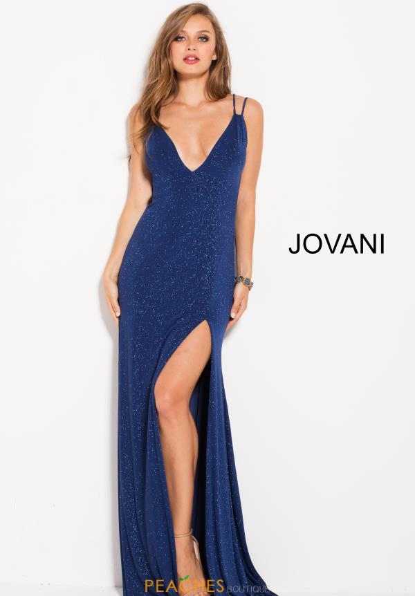 Jovani Long Jersey Dress 58557