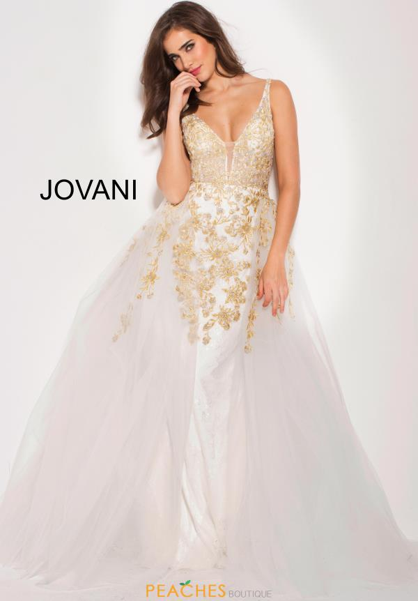 Jovani A Line Lace Dress 58631