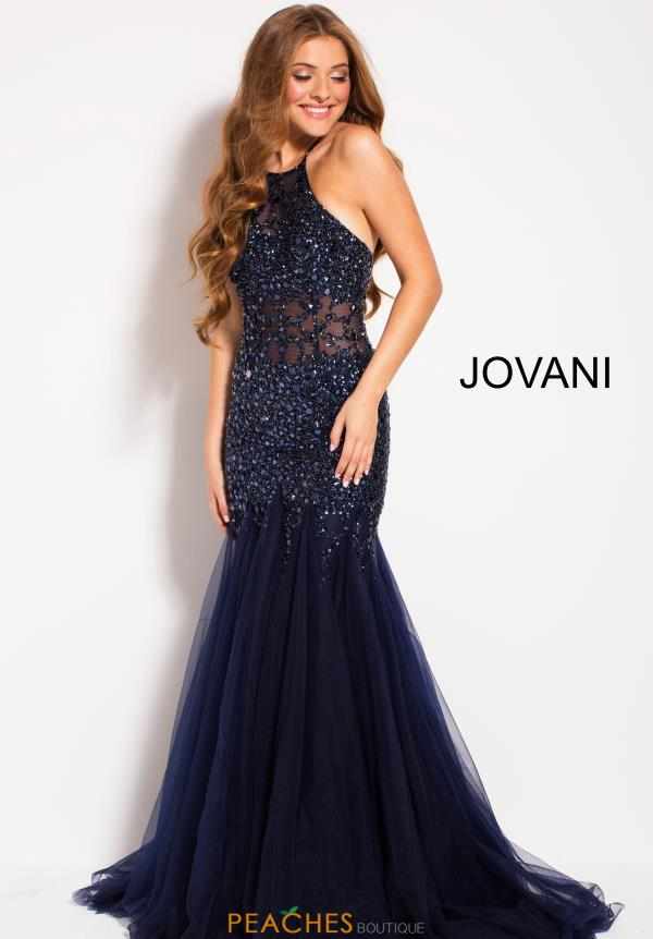 Jovani Long Beaded Dress 59173