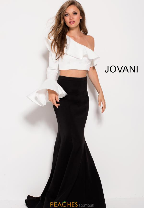 Jovani One Sleeved Fitted Dress 59426