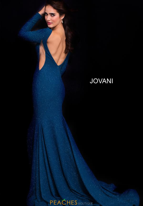 Jovani Long Sleeved Fitted Dress 59700