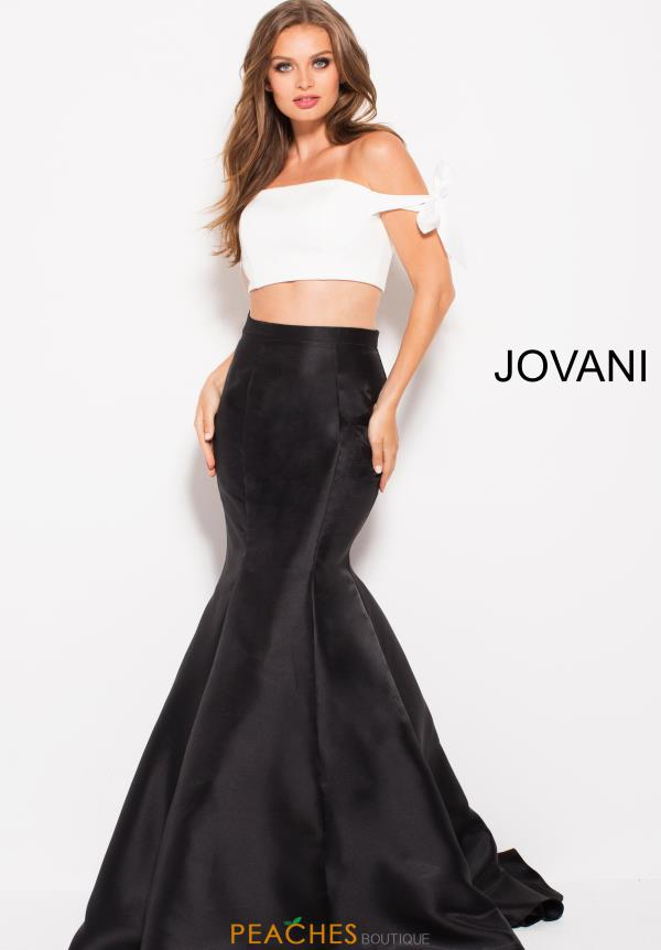 Jovani Cap Sleeved Fitted Dress 59786