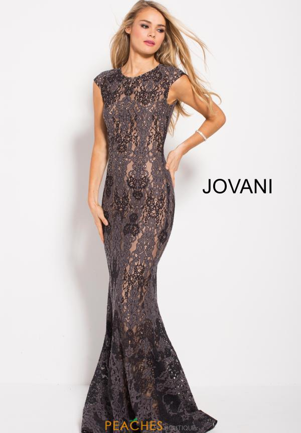 Jovani Long Lace Dress 59816