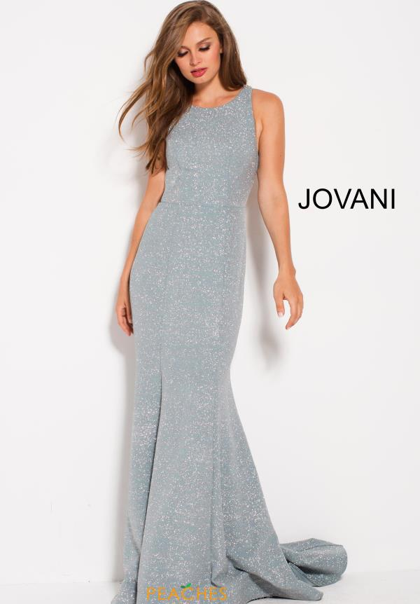 Jovani High Neckline Fitted Dress 59886
