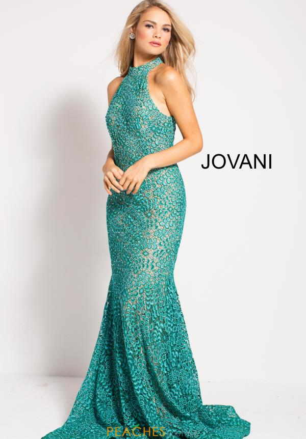 Jovani Long Lace Dress 59908