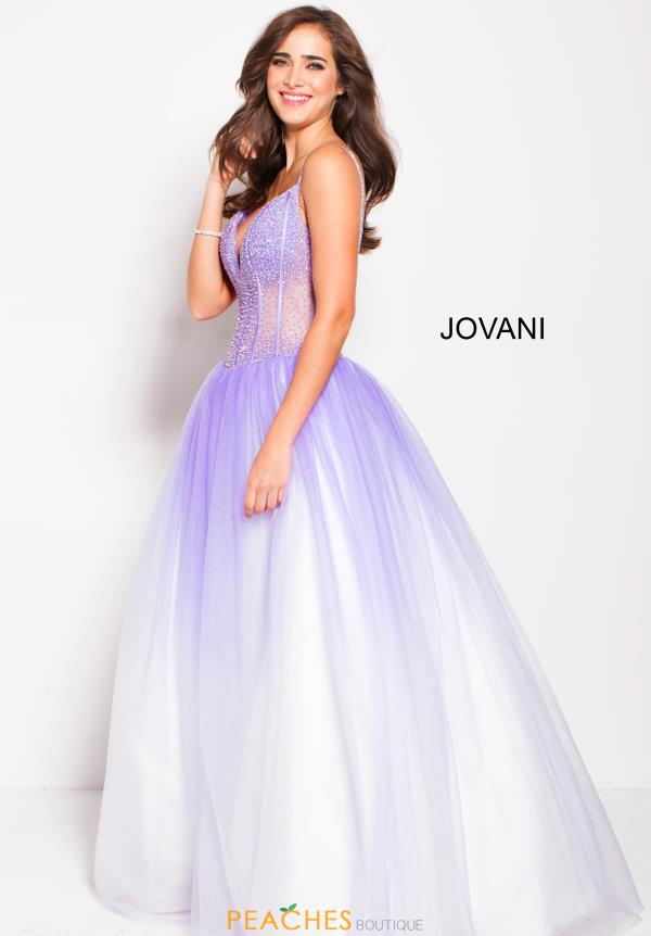 Jovani Beaded Ball Gown 60248
