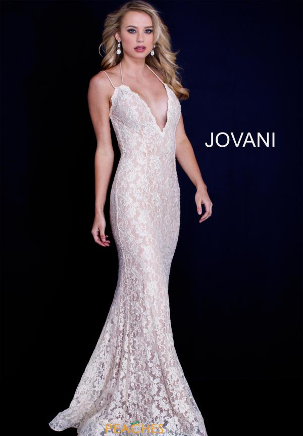 Jovani Long Lace Dress 60367