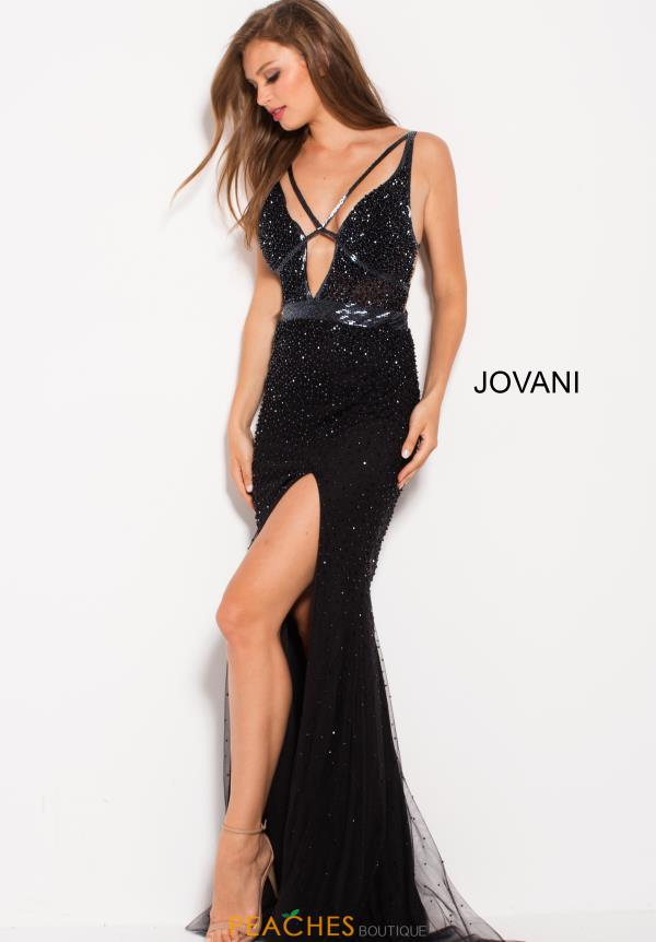 Jovani Long Beaded Dress 60404