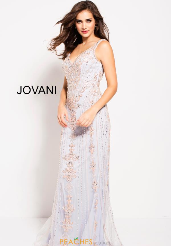Jovani Long Beaded Dress 60829