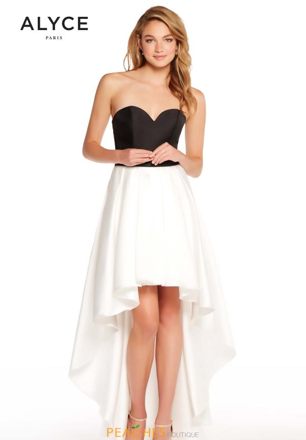 Alyce Paris High Low Sweetheart Dress 60102
