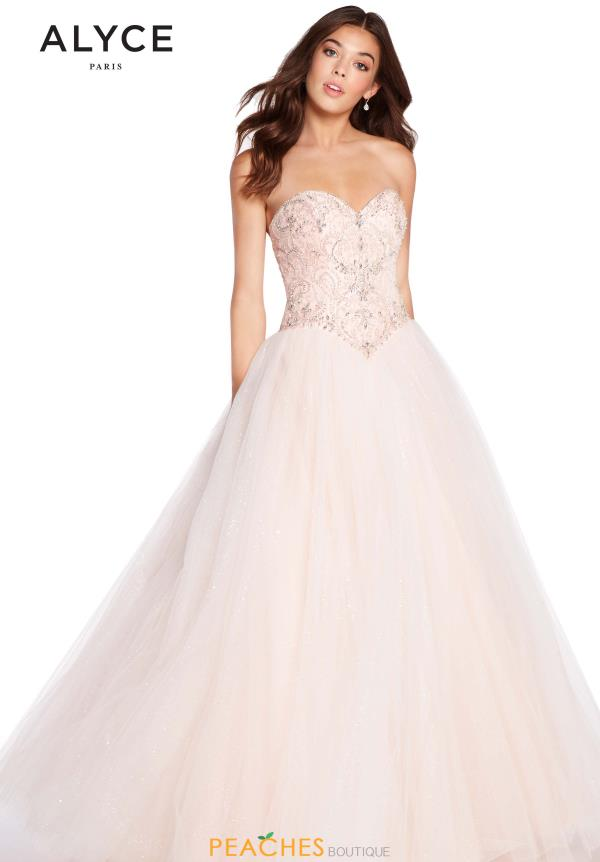 Alyce Paris Ball Gown Sweetheart Dress 60202