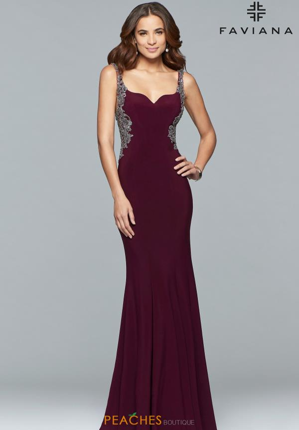 Faviana Sweetheart Fitted Dress S10096