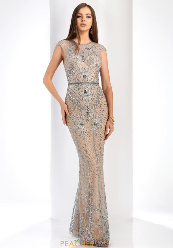 Clarisse Beaded Fitted Dress 4916