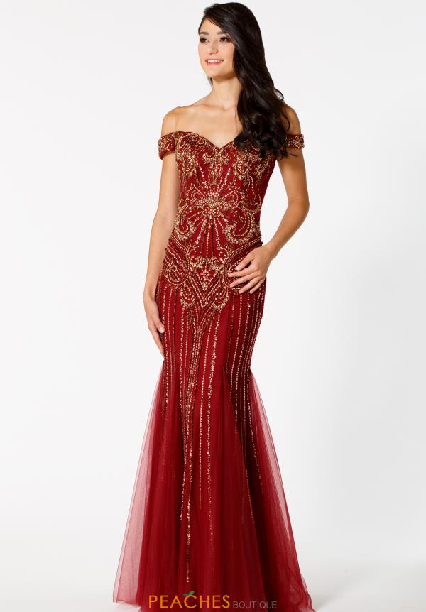 Sean Long Mermaid Dress 51088