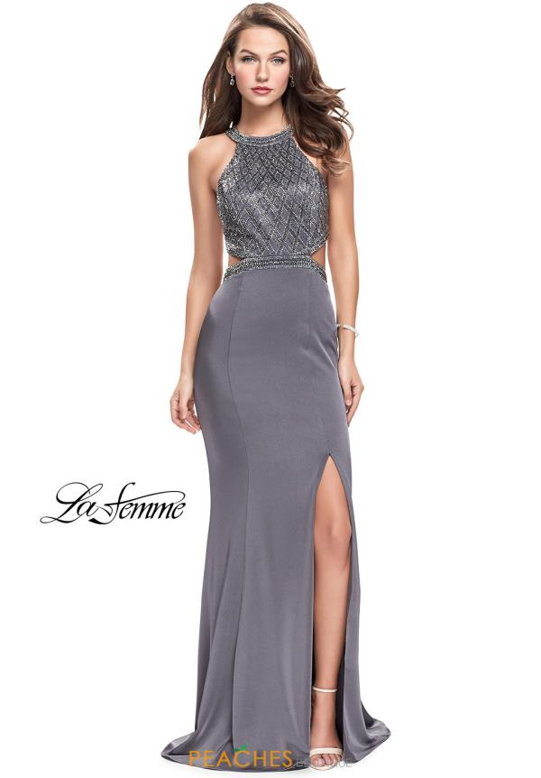 Gigi Jersey Beaded Dress 26130