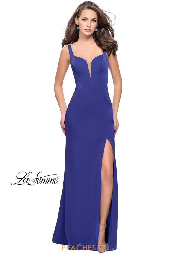 La Femme Sweetheart Fitted Dress 25623
