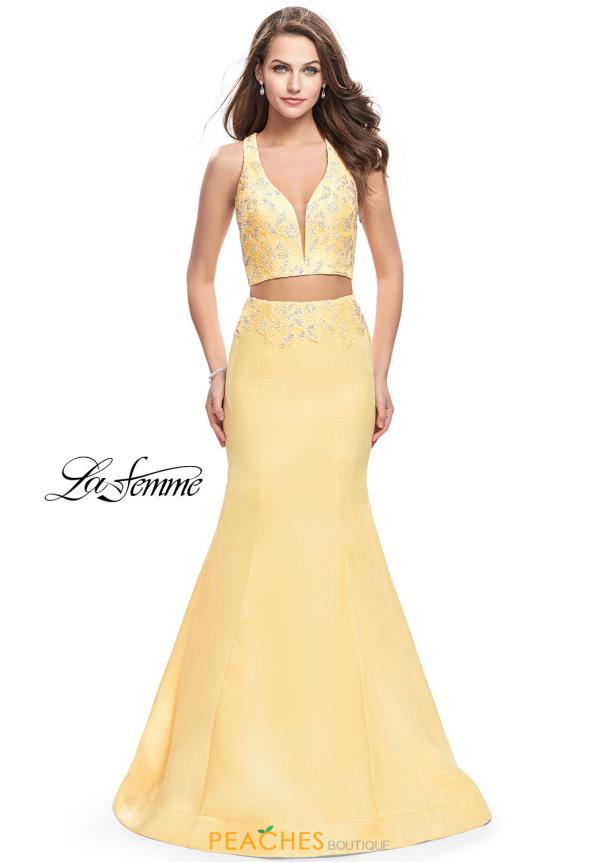 Yellow Homecoming Dresses | Peaches Boutique