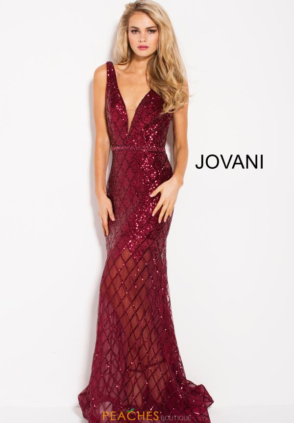 Jovani Long Sequins Dress 59186