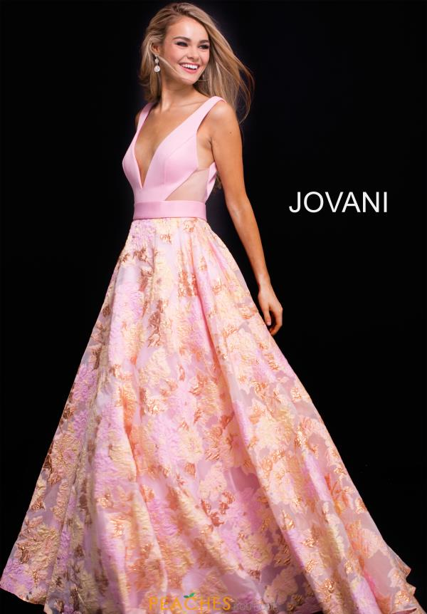 Jovani Long Pink Dress 59799