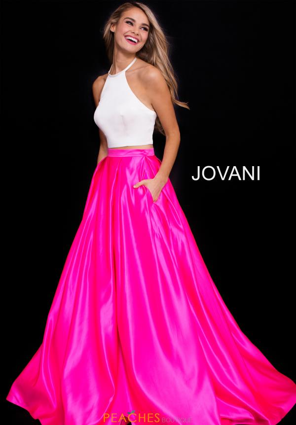 Jovani High Necklne A Line Dress 60386